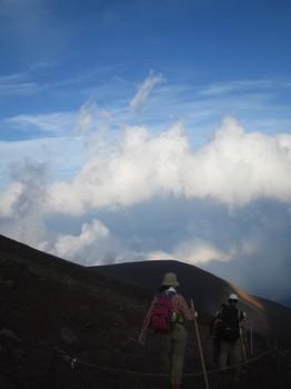 07/08/17富士登頂
